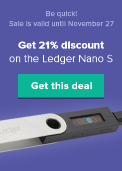 Order the Ledger Nano S